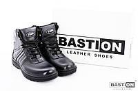 Мужские кожаные зимние ботинки на каждый день  40-45 размер