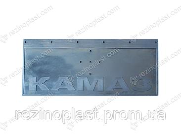 Брызговик передний на авто КАМАЗ самосвал (400х300мм)