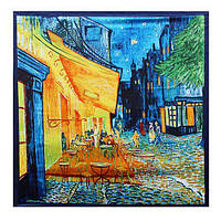 Платок Ночная терраса кафе. Ван Гог