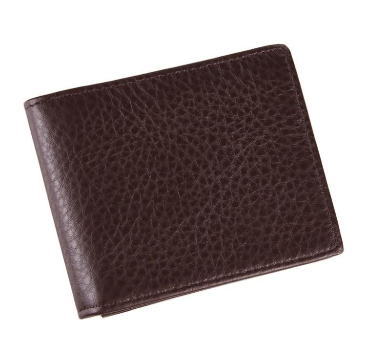 Мужской удобный кожаный кошелек 8055C