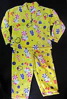 Пижама теплая (травка), до 1 годика, (130/145)