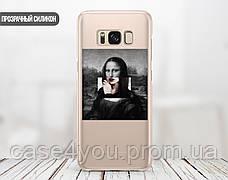 Силиконовый чехол для Samsung J600 Galaxy J6 (2018) Мона Лиза «Джоконда» - Ренессанс (Renaissance Mona Lisa La Gioconda (28225-3398), фото 2