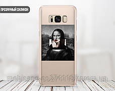Силиконовый чехол для Samsung M105 Galaxy M10 Мона Лиза «Джоконда» - Ренессанс (Renaissance Mona Lisa La Gioconda (13027-3398), фото 2