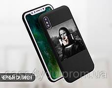 Силиконовый чехол для Xiaomi Mi 8 SE Мона Лиза «Джоконда» - Ренессанс (Renaissance Mona Lisa La Gioconda (31056-3398), фото 3