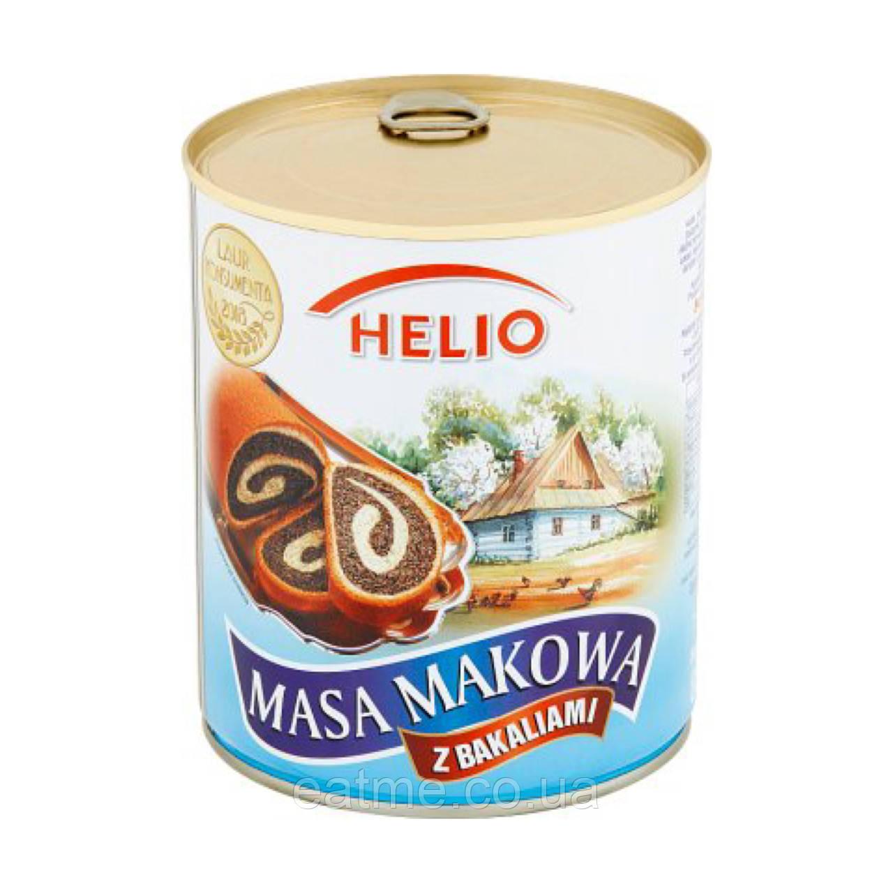 Маковая масса Helio с орехами и изюмом