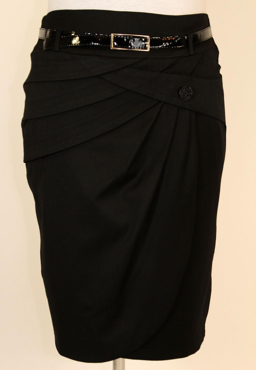 Стильная юбка на запах 48-54 р