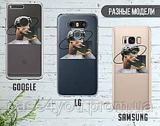 Силиконовый чехол для Samsung A750 Galaxy A7 (2018) Давид Микеланджело - Ренессанс (Renaissance David Michelangelo) (28226-3399), фото 3