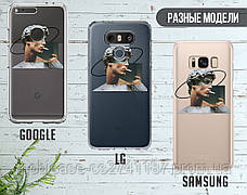 Силиконовый чехол для Samsung A606 Galaxy A60 Давид Микеланджело - Ренессанс (Renaissance David Michelangelo) (13023-3399), фото 3