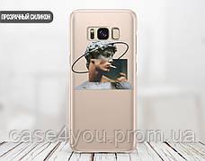 Силиконовый чехол для Samsung A606 Galaxy A60 Давид Микеланджело - Ренессанс (Renaissance David Michelangelo) (13023-3399), фото 2