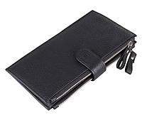 Кожаный кошелек на змейке  8057A, фото 1
