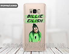 Силиконовый чехол для Apple Iphone 5_5s Billie Eilish (Билли Айлиш) (4002-3400), фото 2