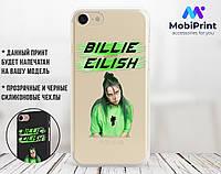 Силиконовый чехол для Apple Iphone XS Billie Eilish (Билли Айлиш) (4026-3400)