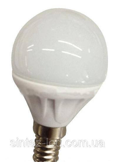 Светодиодная лампа Lemanso LM313 7.2W G45 Е14 2700K Код.58469