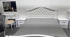 Спальня Маргарита белая массив ольхи Микс мебель, фото 2