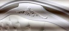 Кровать  Маргарита белая Микс мебель, цвет белый, фото 3