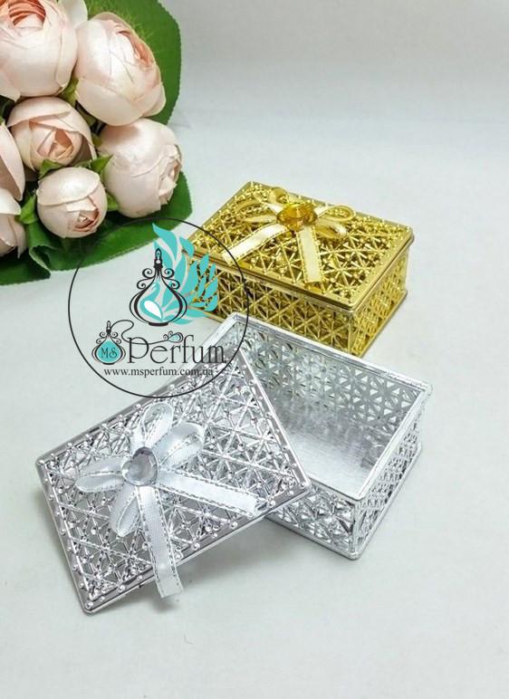 Подарочная коробка золото/серебро