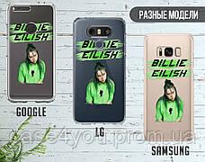 Силиконовый чехол для Samsung J610 Galaxy J6 Plus Billie Eilish (Билли Айлиш) (28228-3400), фото 3
