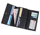Зручний шкіряний гаманець-купюрница 8058A, фото 7