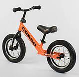 ✅Детский велобег (беговел) CORSO 68170, стальная рама, надувные колёса, фото 3