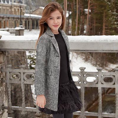 Демісезонна куртка для дівчинки (школяр) NEW