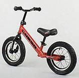✅Детский велобег (беговел) CORSO 71860, стальная рама, надувные колёса, фото 2