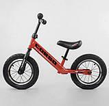 ✅Детский велобег (беговел) CORSO 71860, стальная рама, надувные колёса, фото 3