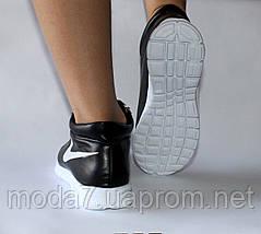 Женские спортивные ботинки Nike черные реплика, фото 2