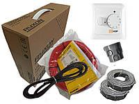 Двухжильный кабель для полного обогрева помещения Ryxon HC-20 о (12 м.кв) 2400 вт Серия  HOF 320 Спец Цена