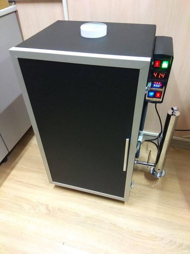 Коптильня холодного и горячего копчения с функцией сушки и вяления продуктов питания COSMOGEN CSHM-750