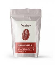Кофе в зернах свежая обжарка Colombia Supremo 250 грамм