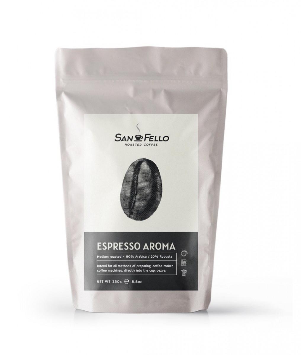 Кофе в зернах свежая обжарка Espresso Aroma 1 кг