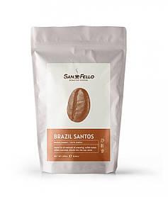 Кофе в зернах свежая обжарка Арабика Brazil Santos 250 грамм