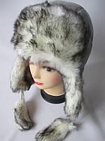Теплые женские шапки  с помпонами., фото 1