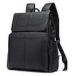 Мужской городской рюкзак из натуральной кожи Marrant - черный, фото 5
