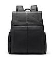 Мужской городской рюкзак из натуральной кожи Marrant - черный, фото 6