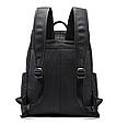 Мужской городской рюкзак из натуральной кожи Marrant - черный, фото 7