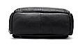 Мужской городской рюкзак из натуральной кожи Marrant - черный, фото 9