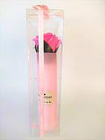 Мыло роза цвет розовый