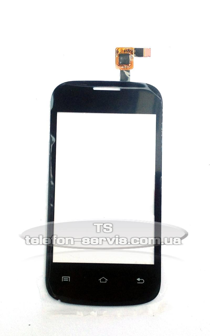 Сенсорний екран Fly E158, чорний