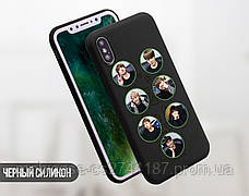 Силиконовый чехол для Huawei P30 BTS (БТС) (13008-3402), фото 3
