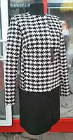 Пальто оригинальное женское  44-48 р-р, фото 1