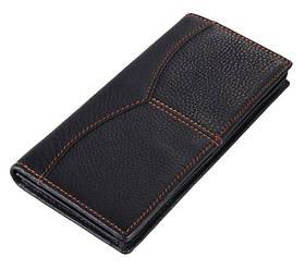 Кожаный удобный кошелек, купюрница 8059A