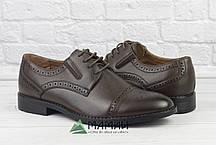 Чоловічі туфлі броги 42р, фото 2