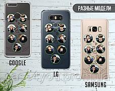 Силиконовый чехол для Samsung G965 Galaxy S9 Plus BTS (БТС) (28219-3402), фото 3
