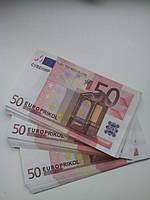 Сувенирные деньги 50евро. Поштучно