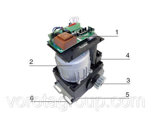 Автоматика DoorHan SL-1300 KIT купить привод