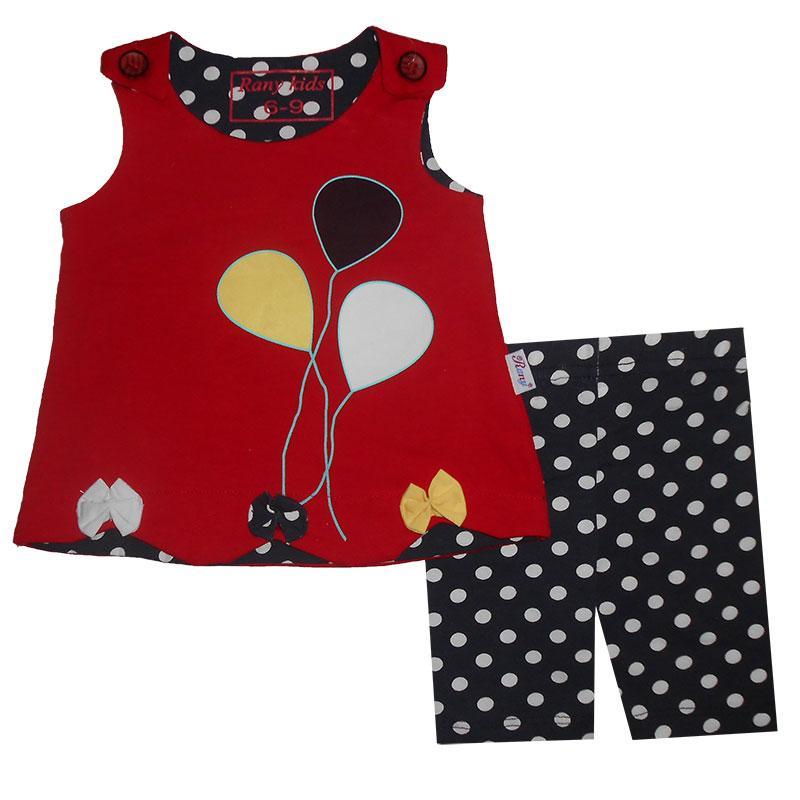 Костюм для девочки 68-92 арт.1001 майка и шорты