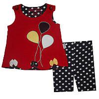 Костюм для девочки 68-92 арт.1001 майка и шорты                                                     , фото 1