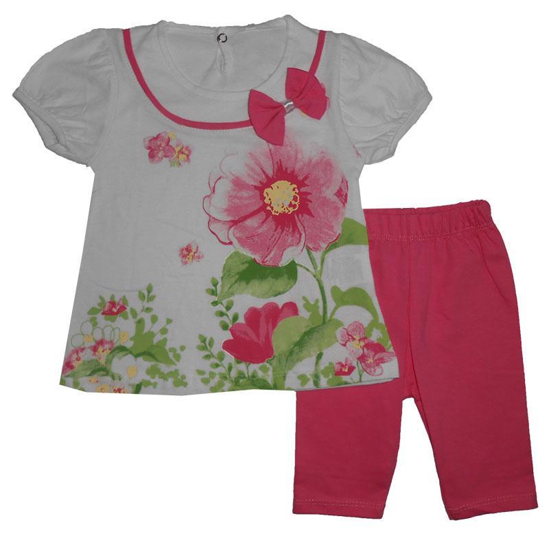 Костюм для девочки 1-3года(86-98) 216803 футболка и лосины