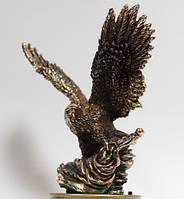 Большая статуэтка орла с медным покрытием 0031